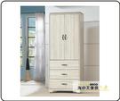 {{ 海中天休閒傢俱廣場 }} G-35 摩登時尚 臥室系列 205-2 日式和風雪杉白2.7尺衣櫥