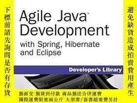 二手書博民逛書店Agile罕見Java Development With Spring, Hibernate And Eclips