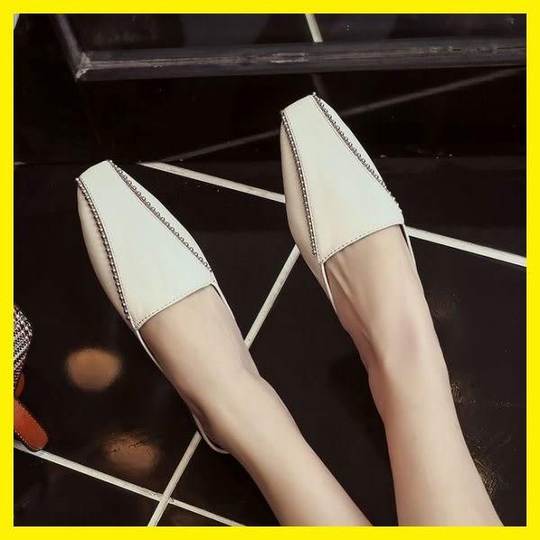 618年㊥大促 穆勒鞋女夏新款半拖鞋涼拖女鞋時尚懶人平底休閒鞋一腳蹬單鞋