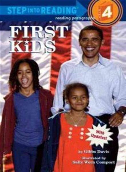 (二手書)Step into Reading Step 4: First Kids