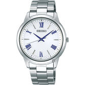 SEIKO精工SPIRIT 太陽能日系時尚手錶-銀/38.8mm V131-0AG0S(SBPL007J)