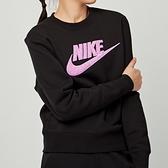 Nike NSW essntl crew 女款 黑 運動 休閒 長袖 上衣 DC5139-010