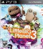 PS3 Little Big Planet 3 小小大星球 3(美版代購)
