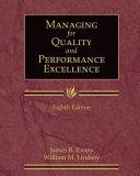 二手書博民逛書店 《Managing for Quality and Performance Excellence》 R2Y ISBN:0324783205│Cengage Learning