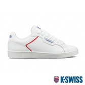 K-SWISS Clean Court II CMF時尚運動鞋-男-白/藍/紅