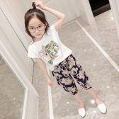 童裝女童夏裝套裝2018新款兒童韓版夏季