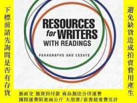 二手書博民逛書店Resources罕見For Writers With Read