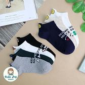 【正韓直送】韓國襪子 後腳跟立體小圖短襪 女襪 棉襪 可愛 禮物 韓妞必備 哈囉喬伊 C35
