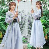 好康618 漢服女古裝服裝改良日常裝連身裙