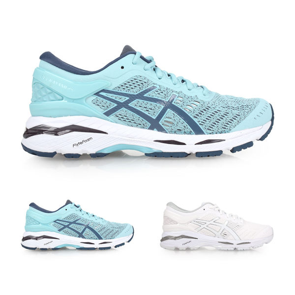 ASICS GEL-KAYANO 24 女慢跑鞋 (免運 路跑 訓練 亞瑟士≡排汗專家≡