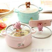 可愛大號泡面碗 日式創意帶蓋雙耳方便面杯學生宿舍陶瓷飯碗湯碗  依夏嚴選