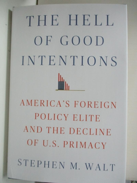 【書寶二手書T1/原文小說_DW5】The Hell of Good Intentions: America's Foreign Policy…