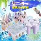 雪糕模具冰激凌冰棒冰棍冰格冰塊冰糕做冰淇淋棒冰的模具家用無毒