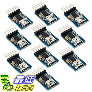 [8美國直購] 模組 10pcs Mini FT232RL Chip USB to UART Serial Converter Module B0731KM9YP