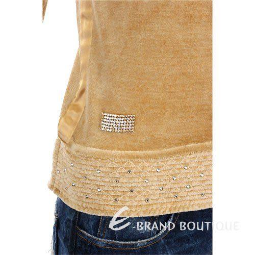 VDP 駝金色鑽飾連帽上衣 0740167-24