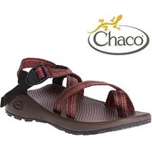 『VENUM旗艦店』Chaco 越野紓壓運動涼鞋-夾腳款 男 美國佳扣 CH-ZLM02 HE07 銹紅貼布