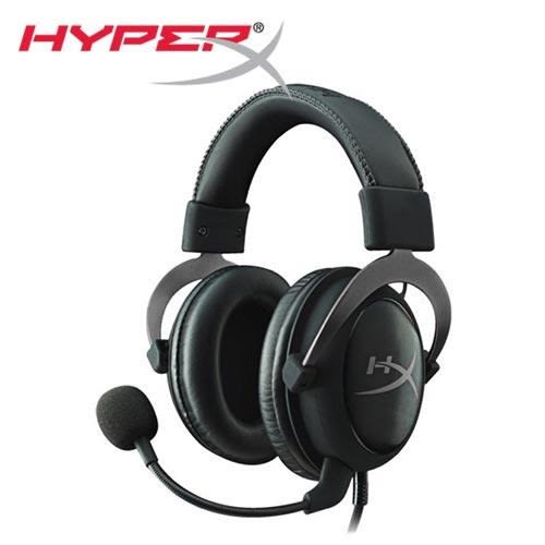 HyperX CLOUDII電競耳機-金屬灰(KHX-HSCP-GM)