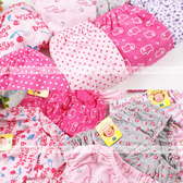 兒童內褲~超優彈性棉質GIRL小內褲~3件一組(不挑款)(P8030)★水娃娃時尚童裝★