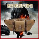 迷彩戰術大腰包 男用側背包 尼龍腰包 手機掛包 胸包 休閒登山旅行【AE16172】i-style居家生活