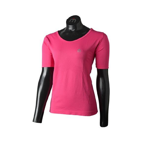 MICO 女圓領短袖保暖排汗內衣IN3345/城市綠洲(義大利、吸濕排汗、彈性、耐磨、透氣舒適)