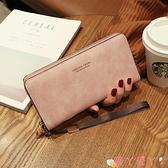 手拿包 女士手拿長款錢包2021新款韓版手包多功能卡包手機包零錢包女錢夾 愛丫 新品