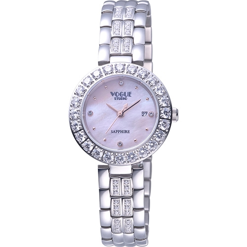 璀璨晶鑽時尚腕錶