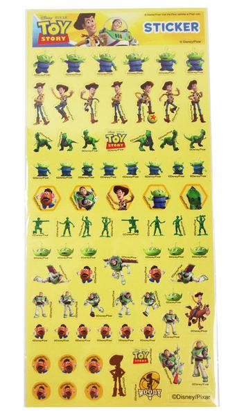 【卡漫城】 玩具總動員 貼紙 兩張組 ㊣版 胡迪 巴斯光年 Toy Story 三眼怪 抱抱龍 彈頭先生