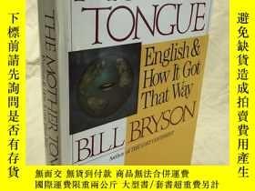 二手書博民逛書店Mother罕見Tongue English & How it