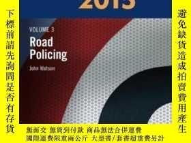 二手書博民逛書店Blackstone s罕見Police Manual Volu