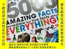 二手書博民逛書店5000罕見AMAZING FACTS:5000個驚人的事實Y212829