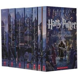 【電影小說】HARRY POTTER THE COMPLETE SERIES BOXED SET 哈利波特盒裝套書/名插畫家特別版(附收藏外盒)