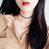 【雙十二】預熱珍珠項鏈女銀鎖骨項圈黑色脖子脖頸飾品頸帶簡約韓國綁帶頸鏈脖鏈     巴黎街頭