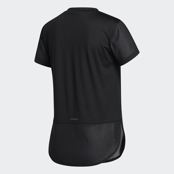 ADIDAS AEROREADY 女裝 短袖 慢跑 訓練 三條線 乾爽 透氣 黑【運動世界】GN7308