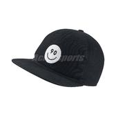 Nike 帽子 Smile Summer Pro Cap 微笑 笑臉 黑 白 90 帽子 棒球帽 後扣調整 【PUMP306】 821600-010
