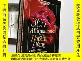 二手書博民逛書店【英文原版】365罕見Affirmations for Hope