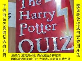 二手書博民逛書店the罕見Harry potter quiz bookY15335 見圖 見圖