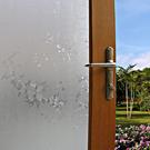 居家無膠靜電玻璃貼膜 防曬貼紙-花藤 半島良品