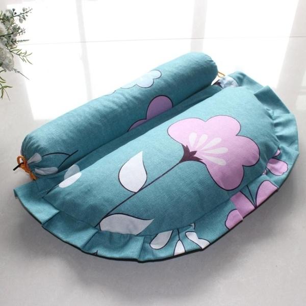 枕頭 黃豆按摩枕頸椎枕牽引枕 組合枕頭蕎麥殼護頸枕 伊衫風尚3C數碼