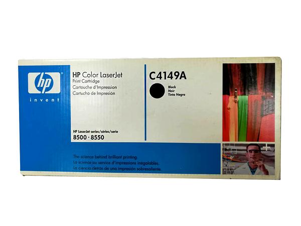 福利品 HP C4149A 原廠黑色碳粉匣 適用 ColorLJ8500/8500N/8500DN/8550
