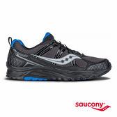 SAUCONY EXCURSION TR10 戶外越野鞋款-黑X藍