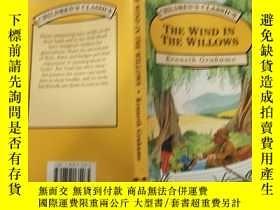 二手書博民逛書店the罕見wind in the willows 柳樹 上的風,Y200392