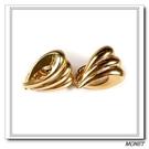 MONET 金色縷空貝型夾式耳環(金色)990131