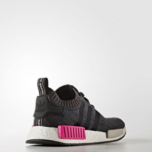 Adidas NMD_R1 W PK [BB2364] 女鞋 運動 休閒 復古 潮流 襪套 避震 合貼 舒適 黑