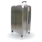 【YC Eason】星光二代25吋海關鎖款PC硬殼行李箱(黑金)