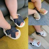 雙十二狂歡 男女寶寶涼鞋嬰兒軟底防滑學步鞋露趾涼鞋0-2歲嬰幼兒鞋子夢想巴士