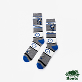 ROOTS配件- 冰上曲棍球高筒襪 (男)-藍色