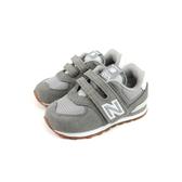 New Balance 574系列 運動鞋 魔鬼氈 灰色 小童 童鞋 IV574SPU-W no714