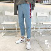 牛仔褲 - 牛仔褲男流原宿風寬松男褲褲子【韓衣舍】