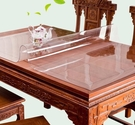 桌墊 無味軟玻璃透明餐桌墊PVC桌布防水防燙防油免洗塑料茶幾厚水晶板【快速出貨超夯八折】