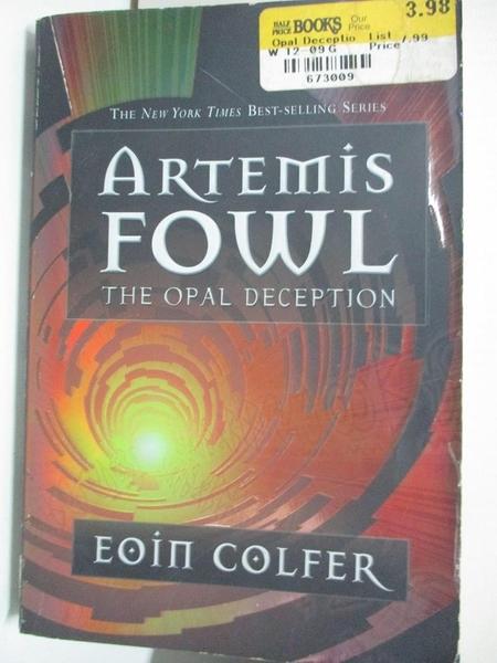 【書寶二手書T3/少年童書_AYS】The Opal Deception_Colfer, Eoin